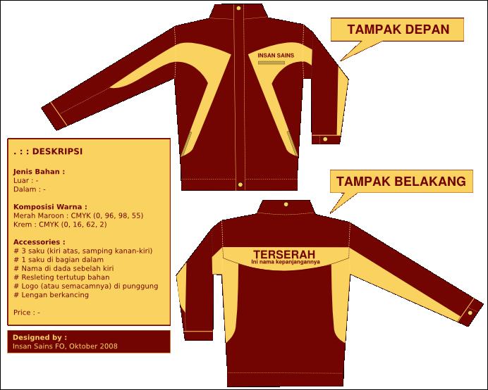 8700 Koleksi Desain Jaket Depan Belakang Samping HD Terbaik